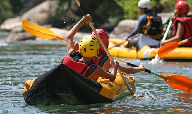 Descnte de la Leyre kayak