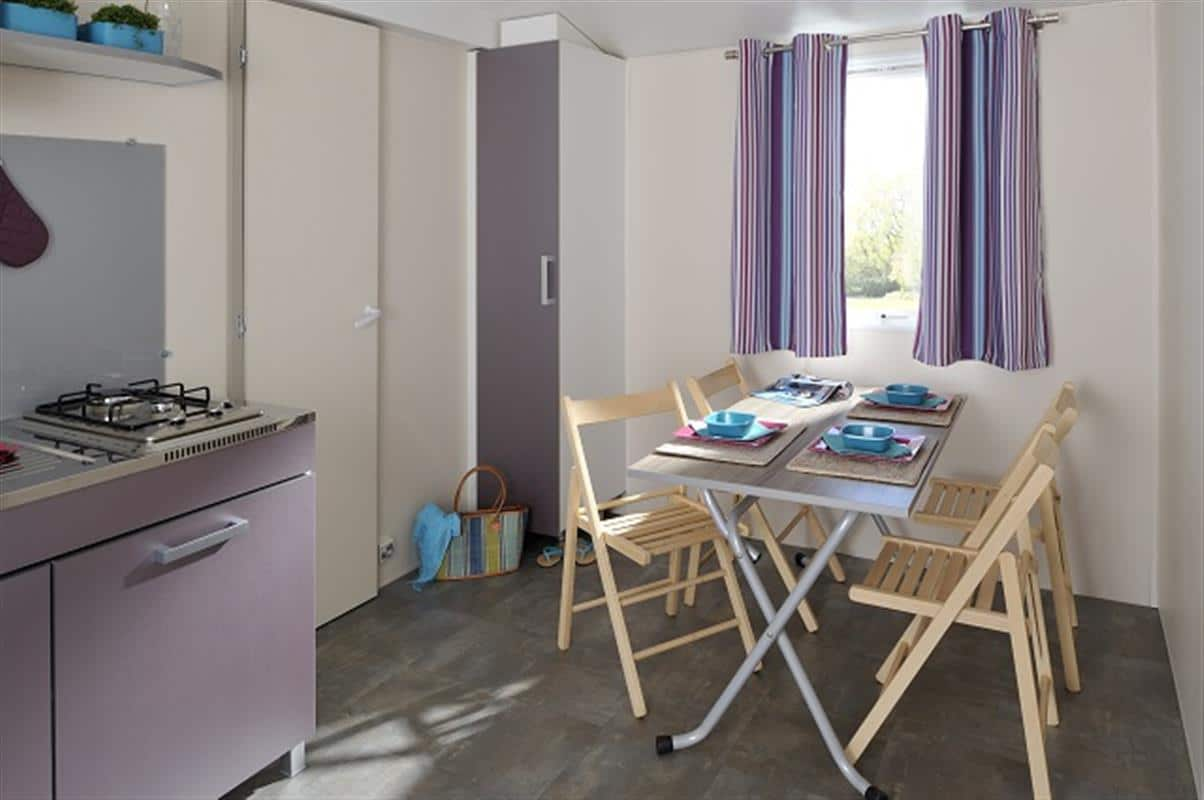 Mobil-home Standard 28 m² 2 Ch 5 pers