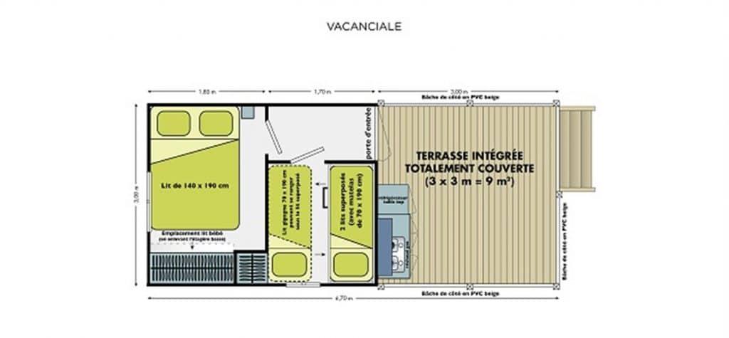 INSOLITE VACANCIALE 2 CH plan
