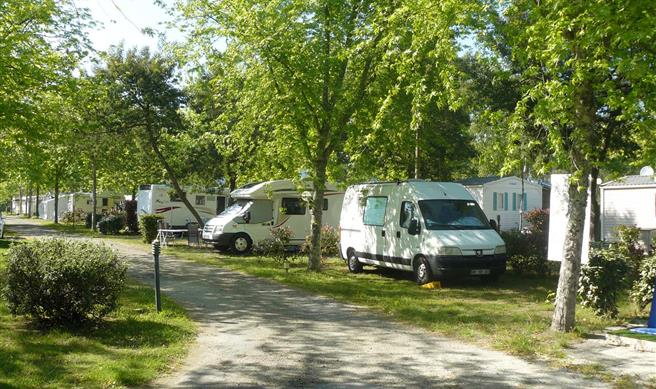emplacement camping cariste