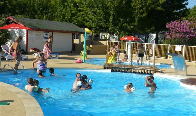 jeux d'eau piscine