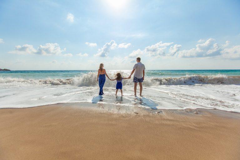 plage famille